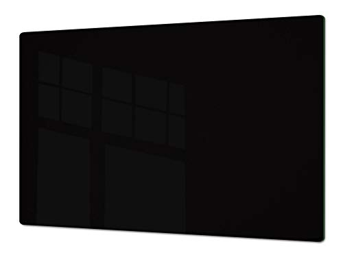 Gigante Cubre vitro resistente a golpes y arañazos - Gran Tabla de cortar de vidrio templado - Encimera de trabajo – UNA PIEZA (80 x 52 cm) o DOS PIEZAS (40 x 52 cm) Serie de colores DD22B