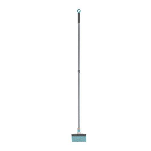 Casabella Flexibler Hals, ausziehbar, für Badewanne und Fliesen, Graphit/Aqua