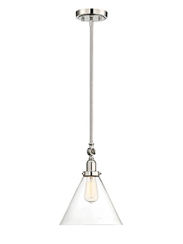 Savoy House 7-9132-1-109 Drake 1-Light Pendant in Polished...