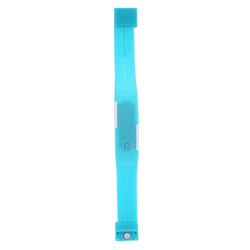 WLH Niños LED Reloj De Pulsera Digital Electrónico Banda De Plástico Reloj De Pulsera Rectangular Azul Claro