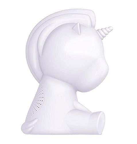 Bigben Interactive BTLSUNICORN Haut-parleur Bluetooth lumineux Licorne Transparent