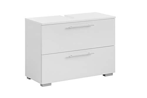 Schildmeyer Waschbeckenunterschrank Carlos 148597, weiß, 80,2 x 59,1 x 35 cm