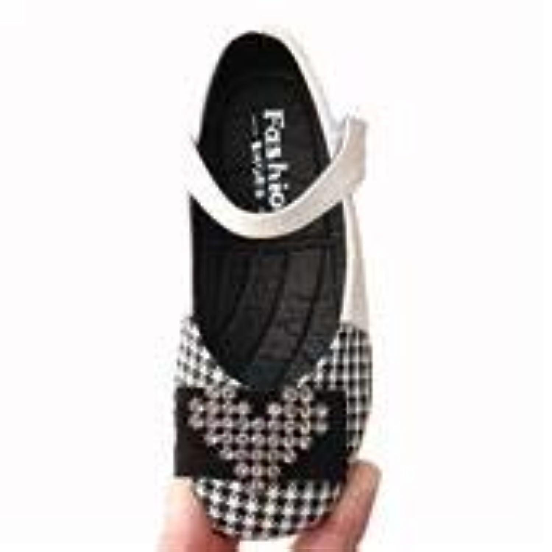 [YIJINGJING] フォーマルシューズ ガールズ 子供靴 ガールズシューズ ドレスシューズ 女の子 キッズ プリンセス風 可愛い プレゼント 春秋夏 3色展開