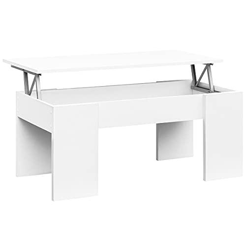 mesa centro elevable blanca barata Envío Gratis