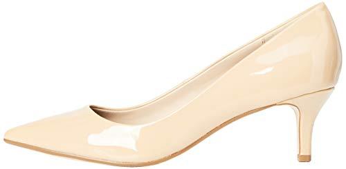 find. Kitten Court Zapatos de Tacón Mujer, Beige (Nude Nude), 37 EU (4 UK)