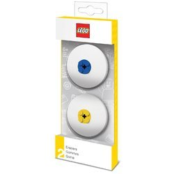 Pack 2 Gomas Borrar Lego + 2 Piezas Lego (4895028515188)