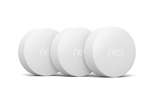 Google, T5001SF, Nest Temperature Sensor, White, 3 Pack