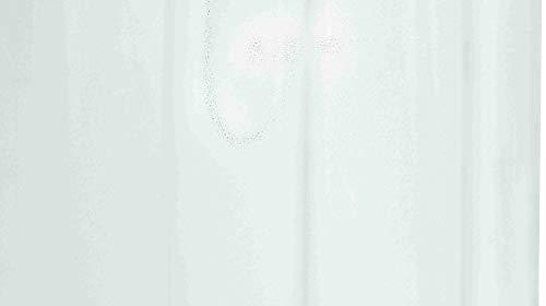GRUND Duschvorhang GELATO 180x200 cm transparent