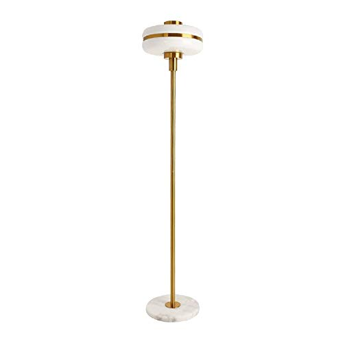 GWXSST Exclusivo Hotel Vestíbulo de Oro Lámpara de la Sala de Estar Moderna Simple de la Personalidad Creativa Vertical Lámpara de pie