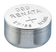 Renata 393nicht aufladbaren Akku, Uhr, einzelne Zelle, Silberoxid, 80mAh, 1,55V, SR48, Flat Top, 10 pack, 10