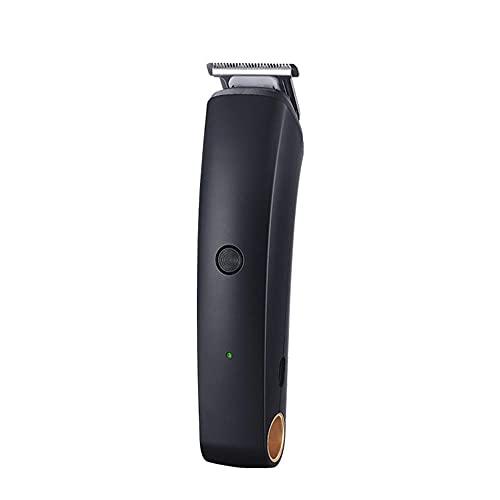 Cortapelos Recortador Pelo Barba Familia, Pumit Head grabado eléctrico Push Cut USB Peluquería eléctrica Push Push Push Germen Blanco