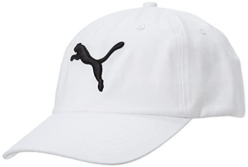 PUMA cap Ess, Cappello Unisex Adulto, Bianco (off/White/Big Cat), Taglia Unica
