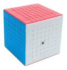 Cubo Rubik MF8 8X8 Cube Stickerless