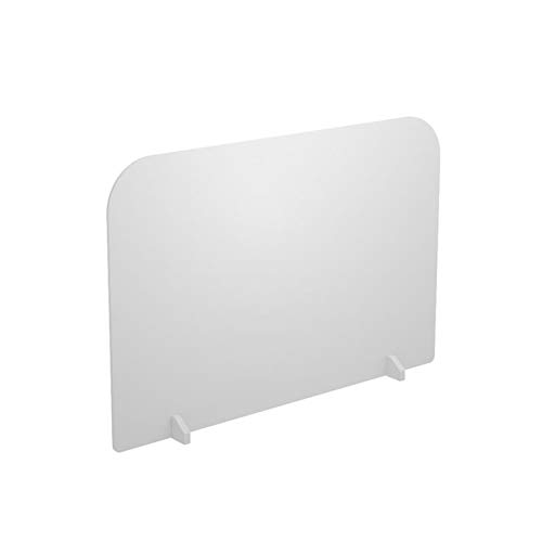 HH1 Mampara de Protección Protector contra Estornudos Tablero de Espuma de PVC Mampara para Mostradores Divisor de Escritorio para Tiendas, Cantina, Oficina, Escuela,50cmX50cm