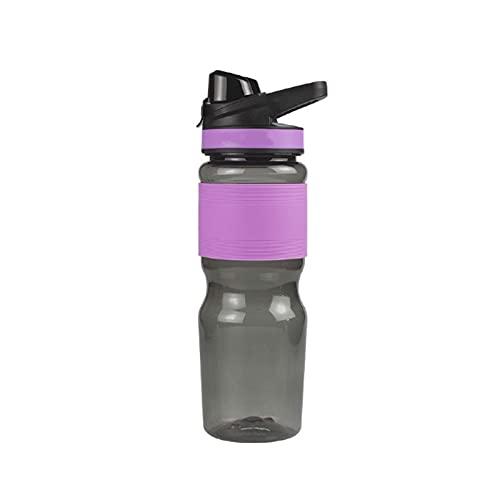 qwertyuiop Botellas Botella de Agua Deportiva 750 ml, Botella de Agua Deportiva portátil Diseño a Prueba de Fugas para Adolescentes, Adultos, Deportes, Gimnasio, Fitness, al Aire Libre, Ciclismo