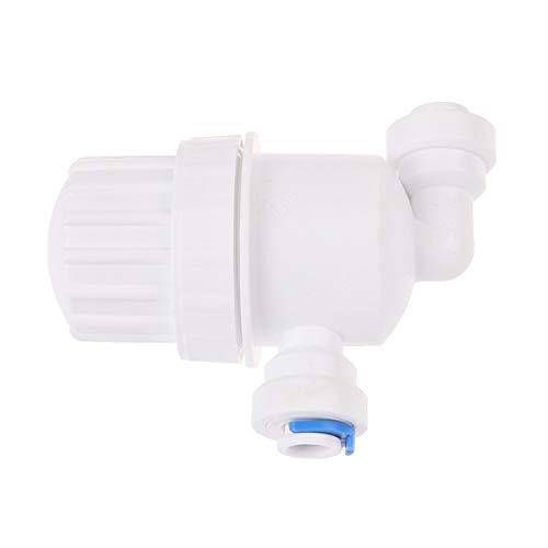 XCQ 1/4 Zoll Garten Wasserfilter Micro-Filterreiniger Front-Mesh-Anschluss langlebig 0606 (Color : White)