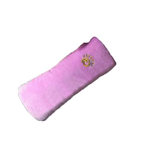 XIUHUA Cubierta de cinturón de Seguridad para niños Cinturones de Asiento Seguros Almohada para niños Hombro Hombro Cinturón Extensor para Cochecito y Asiento de automóvil (Color : Pink)