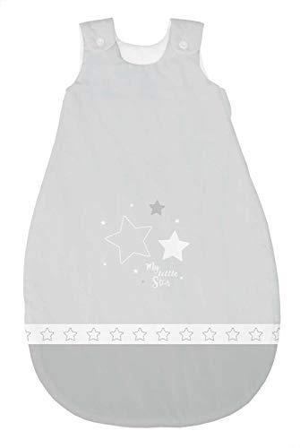 Bebella vital 294784 Tencel - Saco de dormir para todo el año (90 cm), color gris