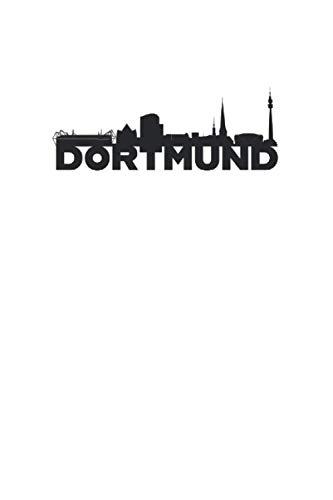 Dortmund: Liniertes Stadt Notizbuch oder Reise Notizheft liniert - Reisen Journal für Männer und Frauen mit Linien