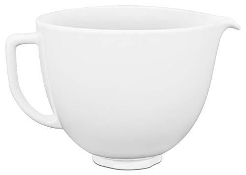 KitchenAid 5KSM2CB5LW Ceramic Bowl white chocolate for 4.3L and 4.8L stand mixer Keramikschale WEISSE SCHOKOLADE