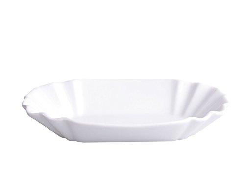 Schüssel Schale Schälchen Currywurst- Schale Keramik weiß
