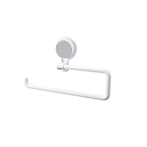 BS Toilettenpapierhalter - Durchschlagsfreier, wasserdichter Wandhalter für kreative Papierhalterung geeignet für das Badezimmer im Badezimmer Ersatzstab aus gebürstetem Nickel