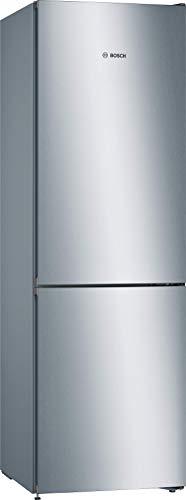 Bosch KGN36VLDD Serie 4 Freistehende Kühl-Gefrier-Kombination / A+++ / 186 cm / 173 kWh/Jahr / Inox-look / 237 L Kühlteil / 87 L Gefrierteil / NoFrost / VitaFresh