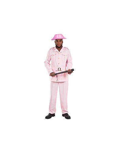 DISBACANAL Disfraz Guardia Rosa para Hombre - -, L