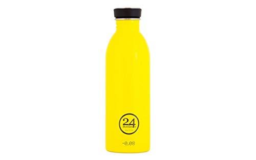 24BOTTLES Urban, Borraccia Unisex – Adulto, Taxy Yellow, 500 ml