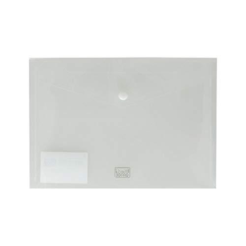 TIPTOP OFFICE Dokumententasche PP A5 180µm, Transparent 406229