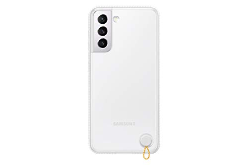 Samsung Galaxy S21 Case, Clear Protective Cover - White (US Version )