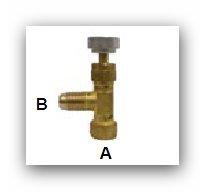 Absperrventil fürR290/ R600a, Propan/Isobutan, NEU