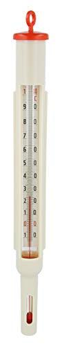 Lantelme Einkochthermometer Analog Kesselfleisch Thermometer Kunststoff -10 bis +110 °C Fleischerei Metzgerei 3213
