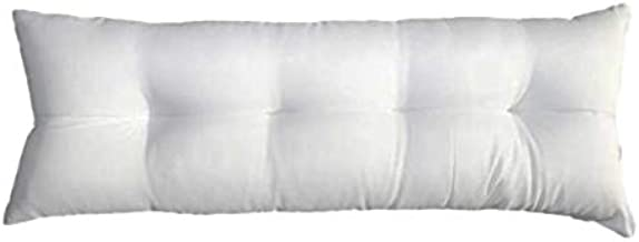 Toson Sleeping Systems Long Pillow Fiber Plus - White, 140×45cm