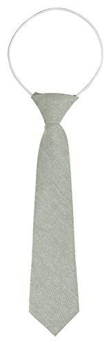 BomGuard kinder-krawatten grau baumwolle kinderkrawatte