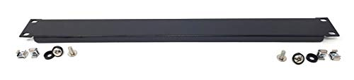 MainCore 1U Cabinet Rack Blanking Plate for 19' Rack Patch Panel/Steel