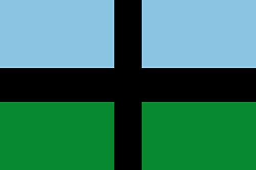 magFlags Bandera Large No Oficial, ni en Uso | Bandera Paisaje | 1.35m² | 90x150cm