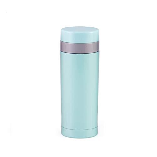 TDMLFF Isolierschalen-Edelstahl-Vakuumschalen-Paar-Schale des Edelstahl-304 Nette Tee-Schalen-Frauen, 250ML (Farbe : Blau)