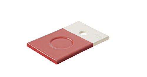 Revol RV648904 Petite Planche Color Lab, Porcelaine, Rouge, 14 x 9 x 0,8 cm