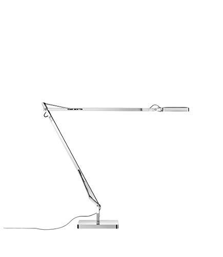 Flos Kelvin Edge Lampada da Tavolo con Base, 8 watts, Cromo