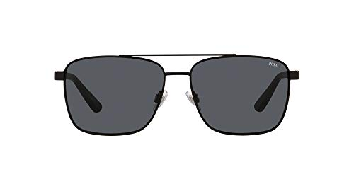 Polo Ralph Lauren Gafas de sol cuadradas Ph3137 para hombre