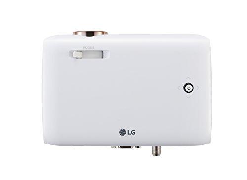 LG PH550 Video - Proyector (550 lúmenes ANSI, DLP, 720p (1280x720), 100000:1, 16:9, 635 - 2540 mm (25 - 100'))