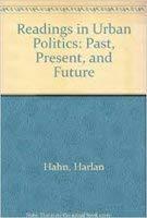 Readings in Urban Politics: Past, Present, and Future 0582284589 Book Cover