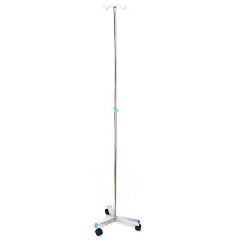 Carts Infusionsständer Klappbar, Höhenverstellbarer Tropfständer Aus Edelstahl für die Häusliche Pflege Älterer Menschen, Krankenhaus und Klinik