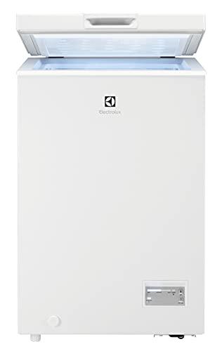 Electrolux LCB1AF10W0 Congelatore Orizzontale, Altezza 84.5 cm, Capacità 98 L, Bianco
