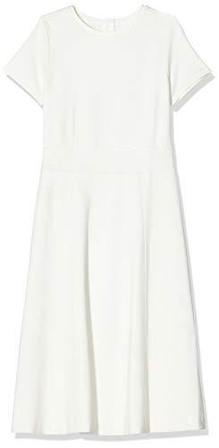 BOSS Damen Dusca Kleid, Weiß (Open White 118), Small (Herstellergröße: S)