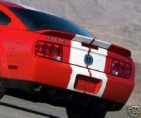 Accent Spoilers - Spoiler for a Ford Mustang GT500 Factory Style Spoiler-Candy Apple Red Paint Code: JV