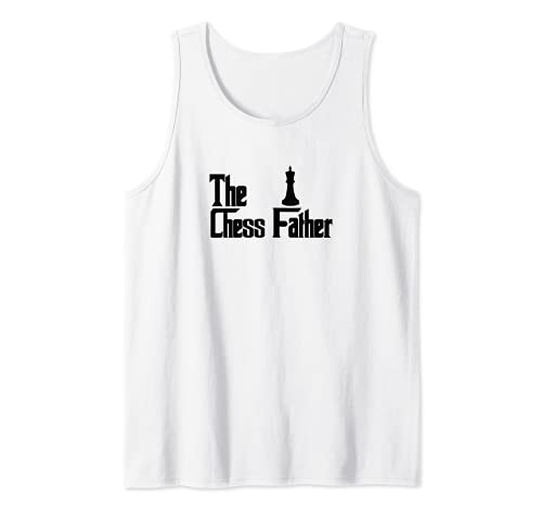 Hombre El padre del ajedrez - Jugador de ajedrez divertido papá Camiseta sin Mangas