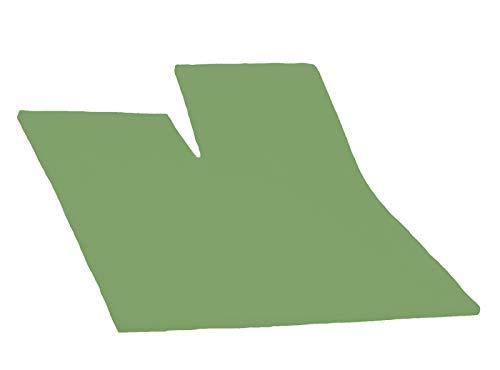 Dormisette Split Topper Spannbettlaken Boxspring Bett 180-200 x 200-220 cm 0042 Olive Grün