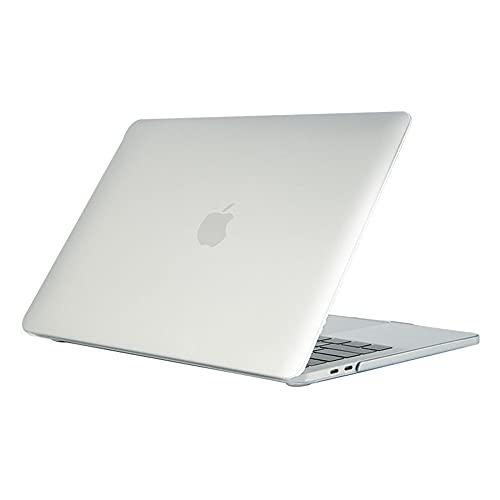 ALX-Dec Carcasa De Plástico Rígido Compatible Con Macbook, Material De Pc, Peso Ligero, 4 Pies De Goma Que Se Mantienen Estables/Plata / A1286